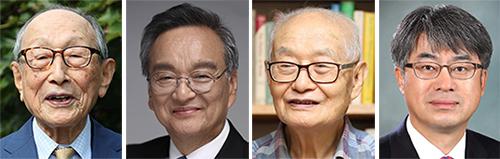 왼쪽부터 김형석, 강효, 이상섭, 김종승.