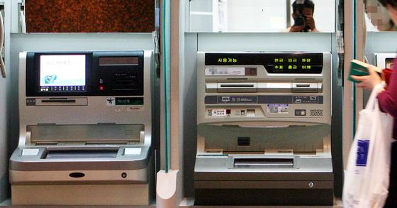 ATM 기기. [중앙포토]