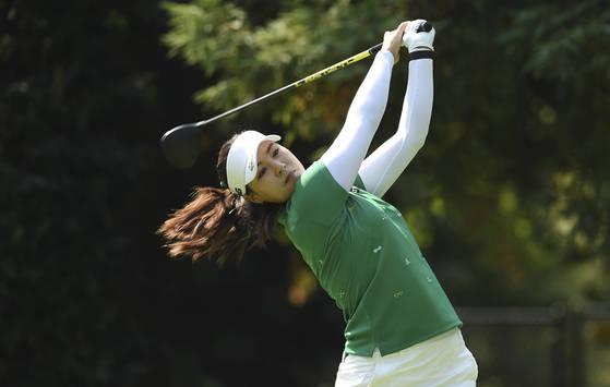 미국 LPGA에서 활약중인 전인지 프로. [포틀랜드 AP=연합뉴스]