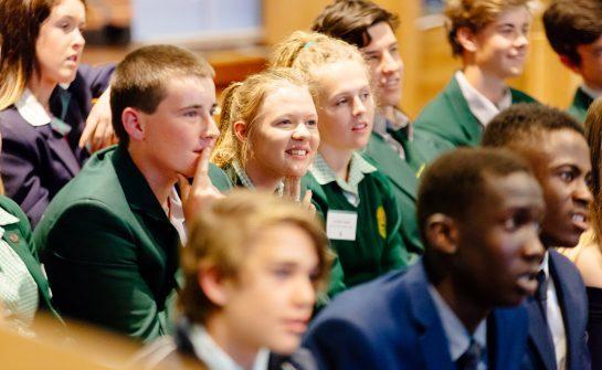 사업 체험교육에 참여한 호주 청소년들. [사진 FYA]