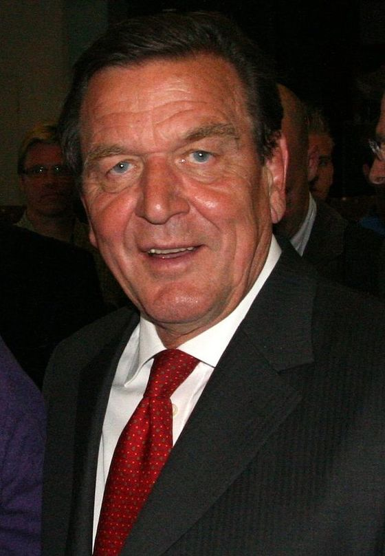 게르하르트 슈뢰더(Gerhard Schroder) 전 독일 총리. [중앙포토]