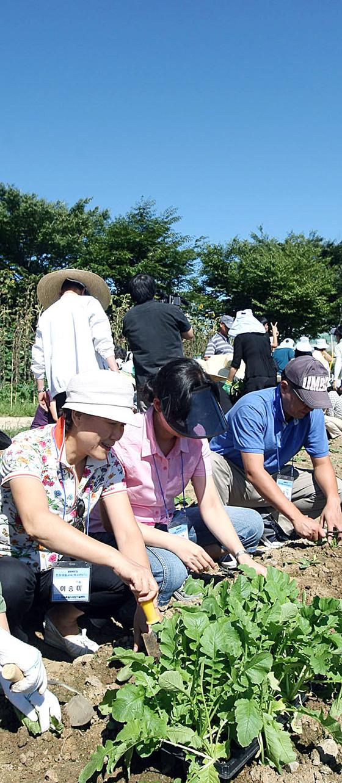 전원생활을 준비하는 도시민들이 '전원생활 강좌'를 듣고 있다. [연합뉴스]