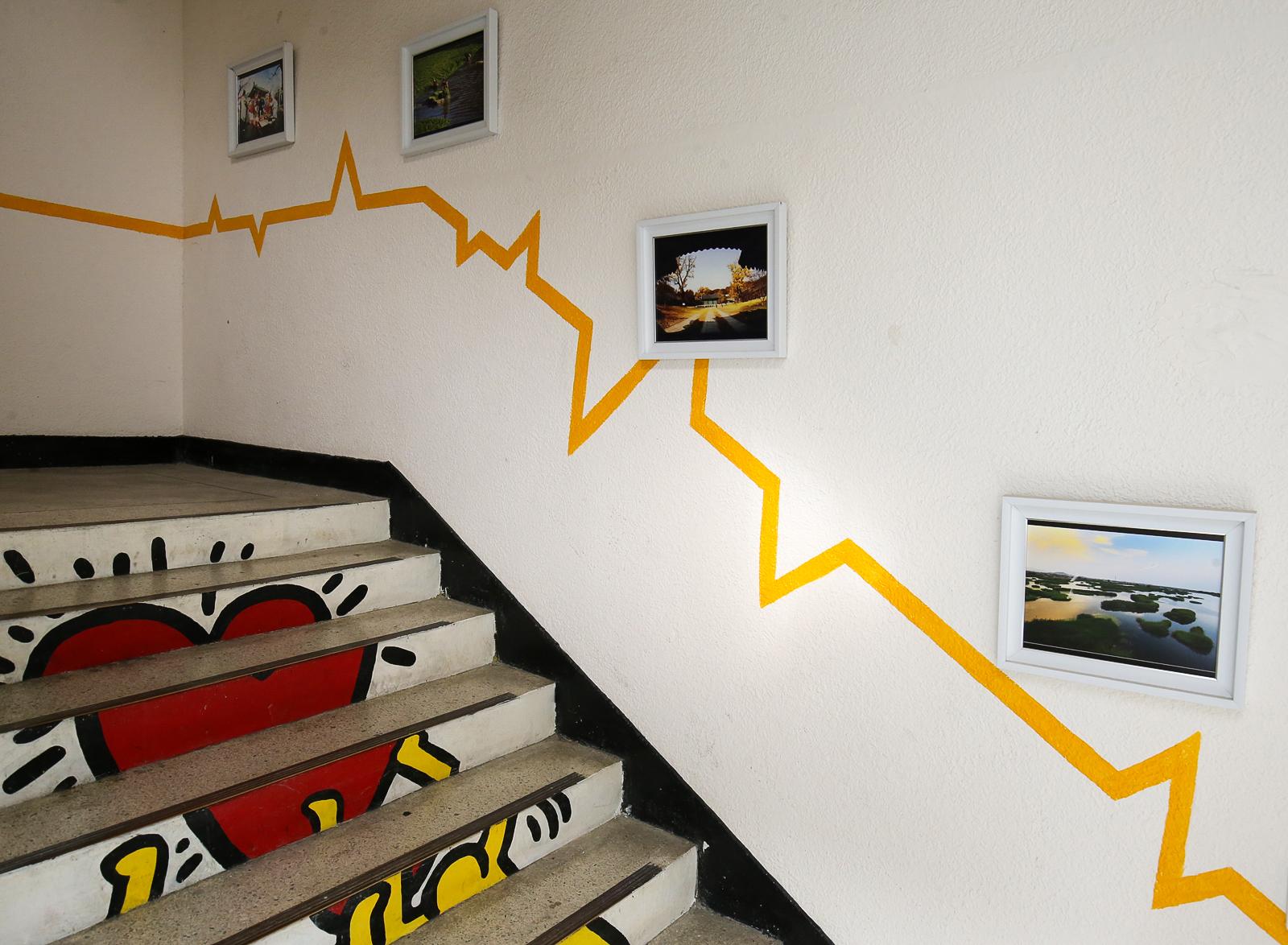 전주시민놀이터 복도 및 계단 모습. 프리랜서 장정필
