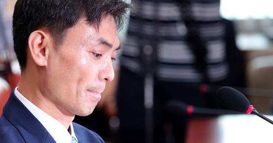 박성진 중소벤처기업부 장관 후보자가 15일 자진 사퇴했다. 박종근 기자