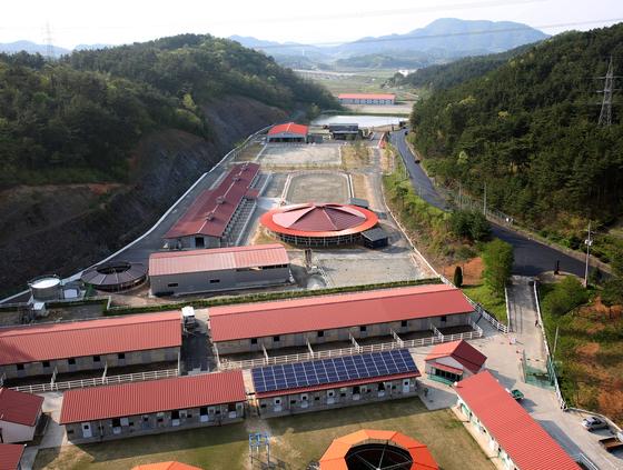경남 함안군 가야읍에 있는 승마공원 전경. 위성욱 기자
