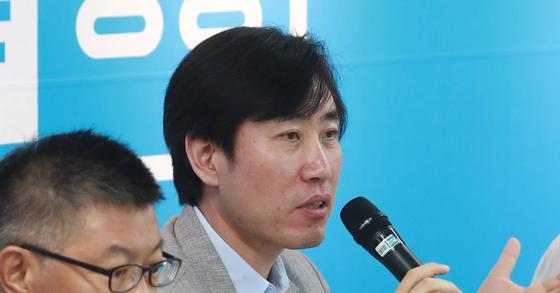 하태경 바른정당 의원. [연합뉴스]