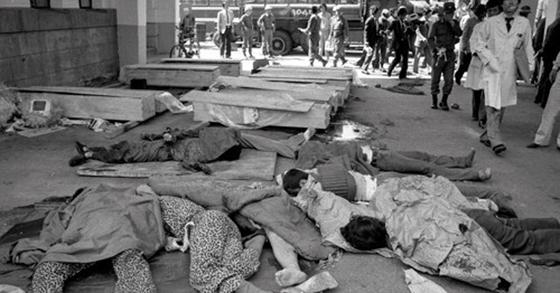 5·18 당시 계엄군에 살해당한 시민들. [사진 5·18 기념재단 = 연합뉴스]