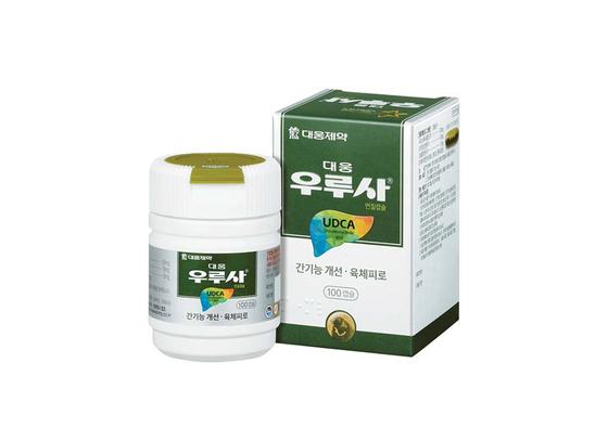 우루사는 UDCA 성분 및 비타민 B1, B2등을 함유하고 있다. [사진·대웅제약]