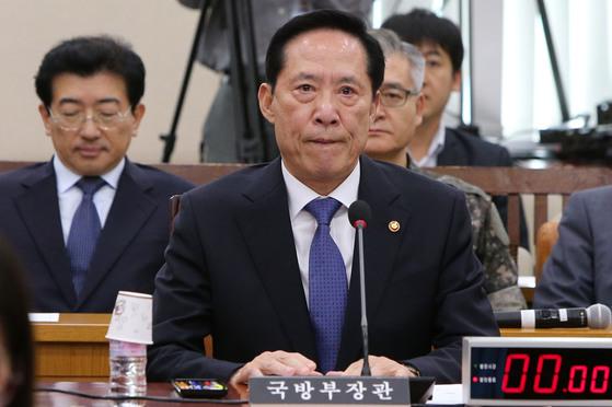 송영무 국방부 장관. [중앙포토]
