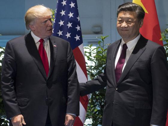도널트 트럼프 미국 대통령(왼쪽)과 시진핑 중국 국가주석 [AP=연합뉴스]