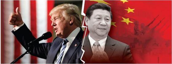 트럼프 미국 대통령과 시진핑 중국 국가주석. [중앙포토]