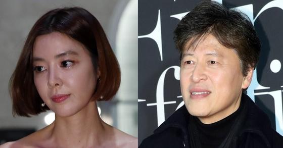 왼쪽부터 배우 김규리, 권해효. [중앙포토]