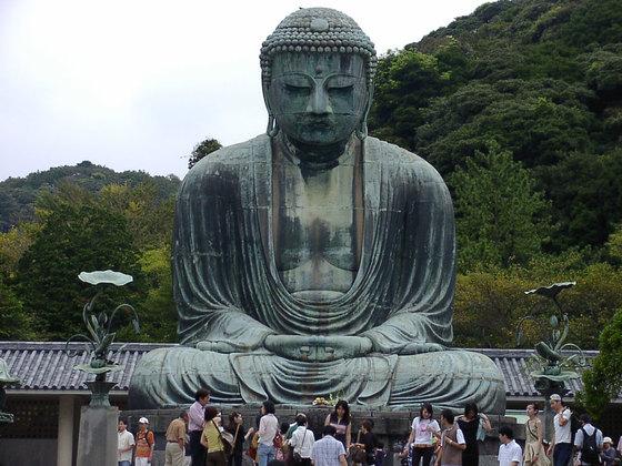 일본 가마쿠라(鎌倉)에 있는 거대 불상