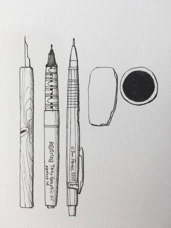 안충기 펜화공방