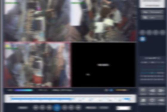 IP카메라해킹 시연장면. [사진 경기남부지방경찰청]