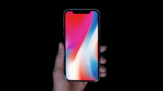 애플이 공개한 아이폰X