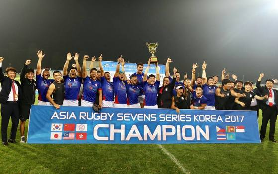 아시아 럭비 연맹 홈페이지