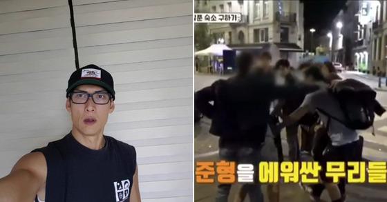 [박준형 인스타그램, 사진 JTBC 방송화면]