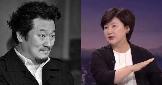 [사진 이상호 기자 페이스북 / JTBC '뉴스룸' 방송화면 캡처]