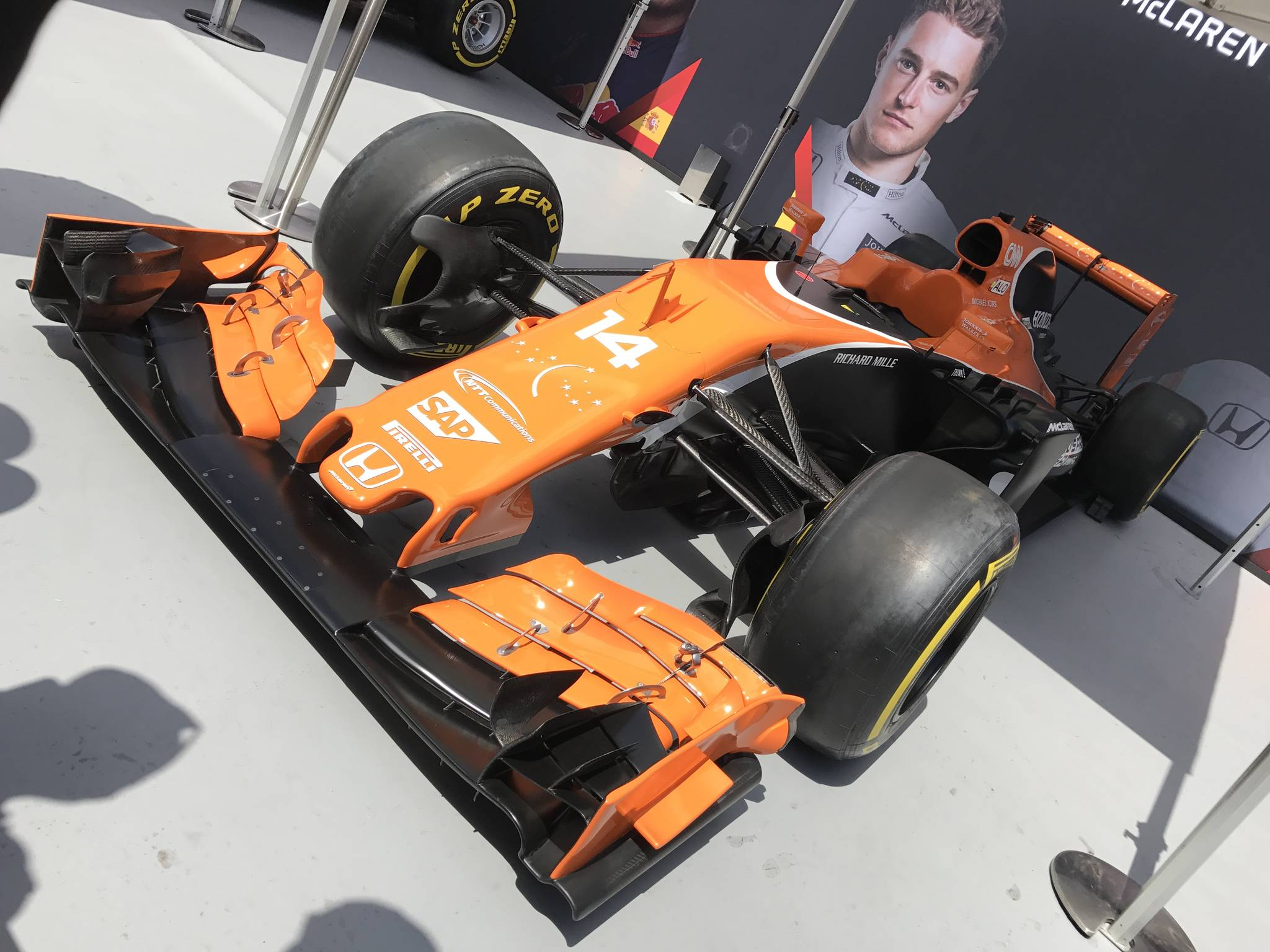 영국 런던 트라팔가 광장 일대에서 12일(현지시간) 'F1 라이브 런던' 행사가 진행됐다. 박상욱 기자