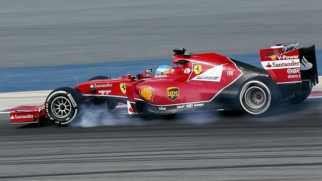 세계적인 F1 드라이버들도 브레이킹 과정에서 바퀴가 잠기는 일을 겪는 경우가 비일비재하다. [사진 F1 홈페이지]