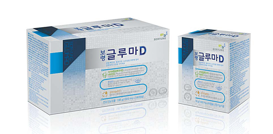 '보령 글루마D'는 관절·뼈, 혈관, 눈의 건강에 도움을 주는 복합건강기능식품이다. 보령컨슈머헬스케어가 '한번에! 3가지 건강을!'이라는 슬로건을 내걸고 상반기에 출시한 제품이다. [사진·보령컨슈머헬스케어]