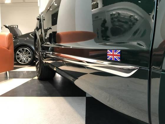 영국 고유의 컬러로 손꼽히는 '브리티시 레이싱 그린(British Racing Green)'. 박상욱 기자