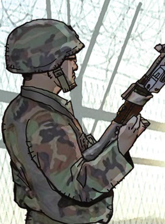 육군은 27일 철원에서 총탄에 맞아 사망한 병사와 관련해 도비탄일 가능성에 무게를 뒀다. [중앙포토]