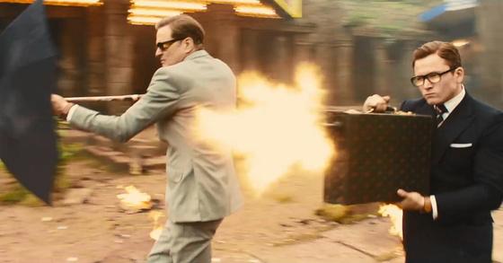'킹스맨: 골든 서클'의 한 장면.