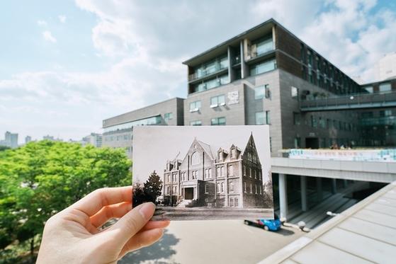 120주년 사진공모전 대상을 받은 김영빈 학생 사진
