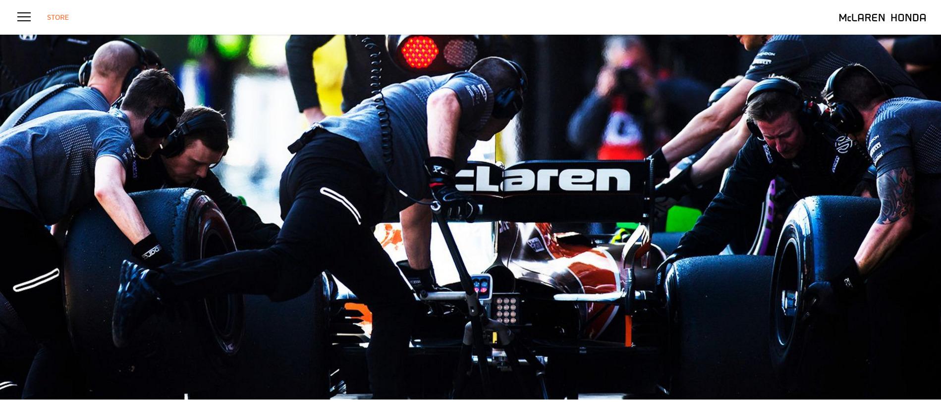 [사진 맥라렌 혼다 F1 홈페이지]