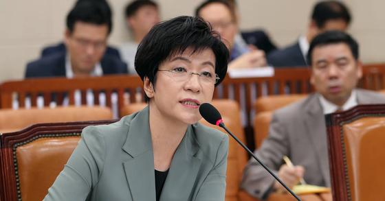 김영주 노동부 장관 자료사진. 박종근 기자