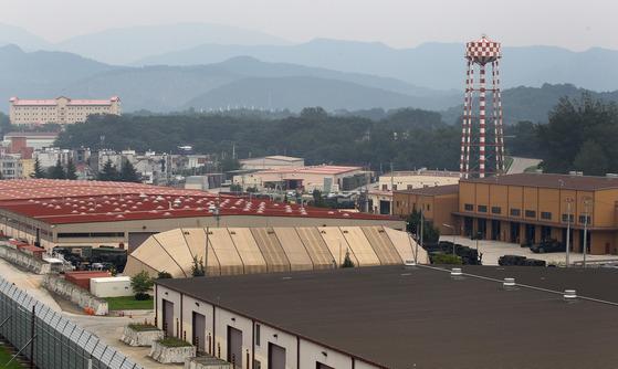 경북 칠곡군 왜관읍 주한미군이 주둔하는 캠프캐럴 기지. 프리랜서 공정식
