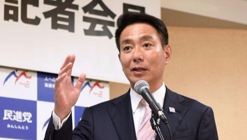 마에하라 세이지 일본 민진당 대표. [연합뉴스]