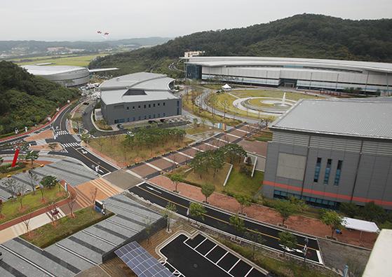 세계 최대 규모 종합스포츠 시설인 진천국가대표선수촌 전경. [진천=연합뉴스]