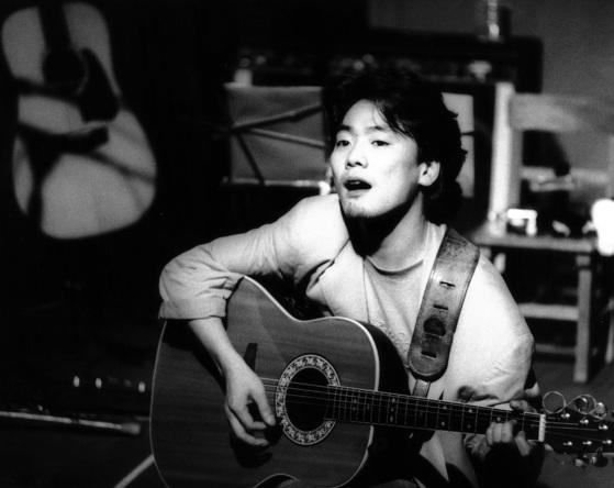가수 김광석.