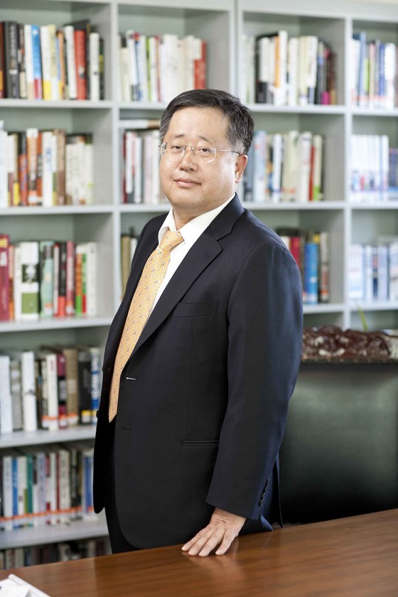 '서울 드래곤시티'를 지은 서부T&D 승만호 대표.