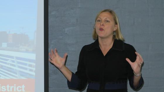 칼라사타마 프로젝트를 총괄하고 있는 포럼비리움의 비라 무스토넨 대표. [사진 정경민 기자]
