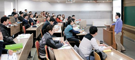 한양대 경영전문대학원은 Hanyang MBA, Professional MBA, International MBA 등 세 과정과 18개 세부 전공 트랙으로 구성된다. [사진·한양대]