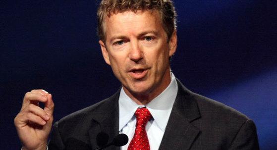 랜드폴 미 공화당 상원의원.