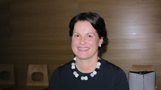 오로라 프로젝트를 총괄하고 있는 핀란드 교통국 레이야 비나넨 이사. [사진 정경민 기자]