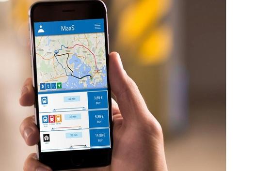 모든 교통수단을 모바일 앱으로 연결하자는 마스 프로젝트.                [마스 글로벌]