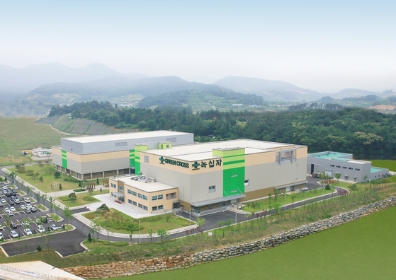 녹십자가 2009년 완공한 전남 화순 공장. 독감백신 자족이 이곳을 통해 완성됐다. [사진 녹십자]