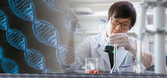 한국콜마홀딩스의 유전체 사업 진출로 국내 유전자 맞춤형 시장이 활성화될 전망이다. 소비자는 유전체 빅데이터를 활용한 유전자 맞춤형 상품을 통해 미용·의료·식품 등 다양한 분야에서 건강관리 서비스를 지원받게 될 예정이다. [사진 한국콜마홀딩스]