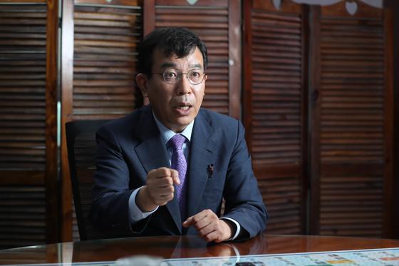 """김종대 의원은 """"내달 있을 19차 중국 공산당 대회가 끝나는 타이밍이 문 대통령이 시진핑 주석과 접촉해 관계 개선을 시도할 적기""""라고 말했다. [신인섭 기자]"""