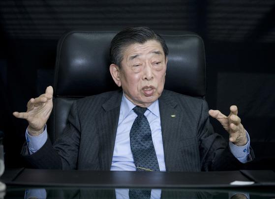 김운용(85) 전 IOC 부위원장.[중앙포토]