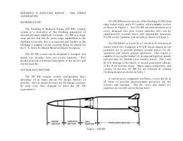 퍼싱-2 RR 모습. 이 미사일은 설계 단계에서 포기됐다.  [자료=www.pershing.org]