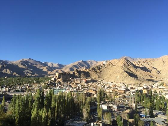 작은 티베트인 라다크, 그리고 여기서 가장 큰 도시인 레.