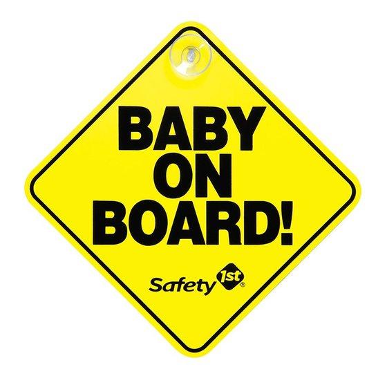 'Baby on board' 차량 표지판은 1984년 유아용품 회사 '세이프티 퍼스트' 의 창립자 마이클 러너가 만들었으며, 이후 전 세계에 퍼졌다.
