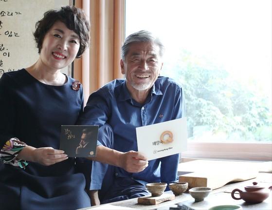 배양숙의 Q가 서울 종로구 홍지동 장사익의 자택을 찾았다. [프리랜서 조현지]